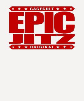 EPIC JITZ - Skilled Warrior of Brazilian Jiu-Jitsu T-shirt