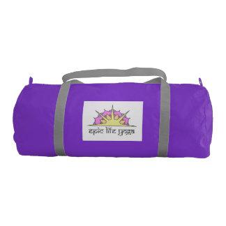 Epic Life Yoga Color Logo Gym Bag
