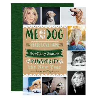 EPIC Me and My Dog 5x7 Photocard (8 Images) 13 Cm X 18 Cm Invitation Card