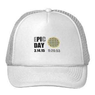 "Epic Pi Day - E""PI""C Day Blueberry Lattice Pie Cap"