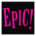 Epic Pink Invite
