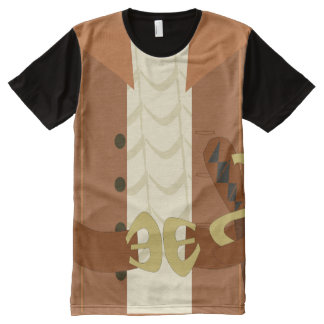 Epic Pirate Costume All-Over Print T-Shirt