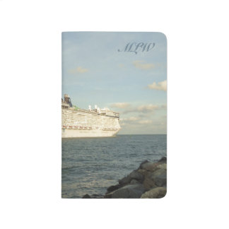 Epic Pursuit - Gull Following Cruise Ship Monogram Journal
