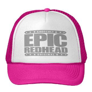 EPIC REDHEAD - I'm a Fiery Phoenix Warrior Rising Cap