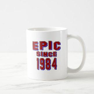 Epic since 1984 coffee mugs