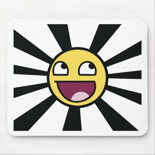 Epic Smiley Mouse Pad