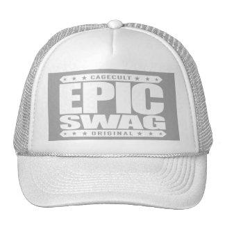 EPIC SWAG - Warrior Spirit Smokes Haters & Trolls Cap