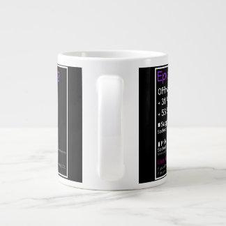 Epic Tea Mug Black Jumbo Mug