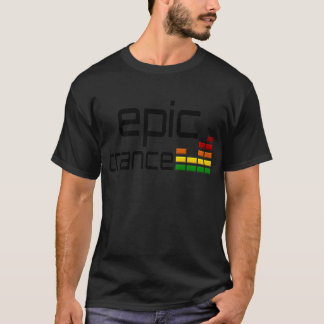 Epic Trance Music with Stereo Equalizer T-Shirt