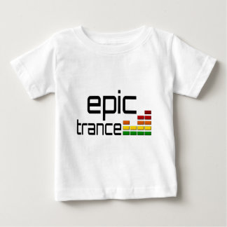 Epic Trance Music with Stereo Equalizer Tshirt