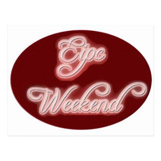 Epic Weekend Postcard