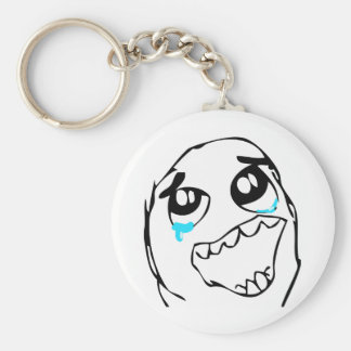 Epic Win Basic Round Button Key Ring