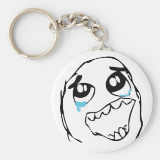 Epic Win Troll Basic Round Button Key Ring