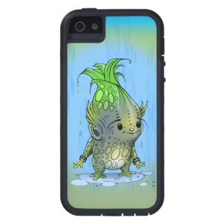 EPICORN  ALIEN CARTOON iPhone SE + iPhone 5/5S T X iPhone 5 Case