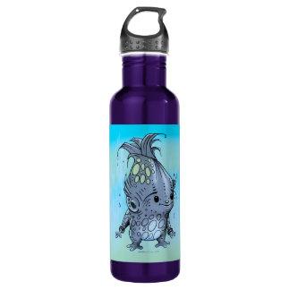 EPICORN BLUE Purple ALIEN WATER BOTTLE 24 onz 710 Ml Water Bottle