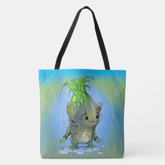 EPICORN  CARTOON All-Over-Print Tote Bag Large