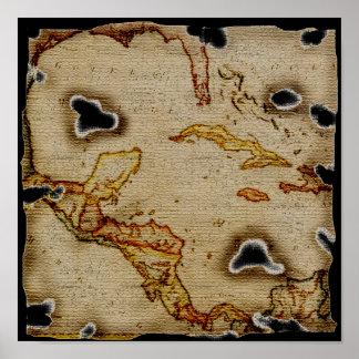 EpicTreasure Map 1 Print