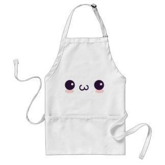 epicute cat face standard apron
