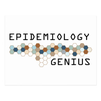 Epidemiology Genius Post Cards