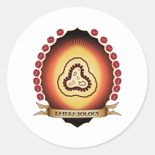 Epidemiology Mandorla Sticker