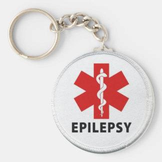 Epilepsy alert key ring