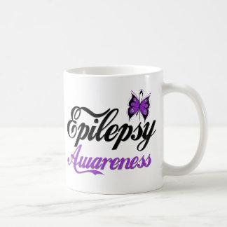 Epilepsy Awareness Basic White Mug