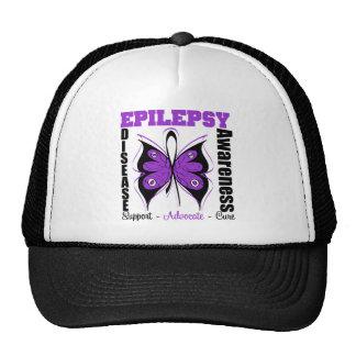 Epilepsy Awareness Butterfly Trucker Hat