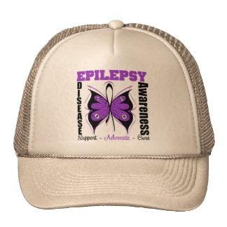 Epilepsy Awareness Butterfly Hat