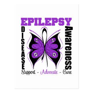 Epilepsy Awareness Butterfly Postcard