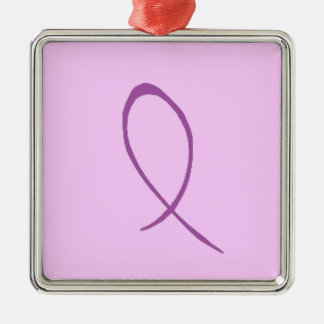 Epilepsy Awareness Customizable Christmas Ornament