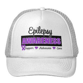 Epilepsy Awareness Mesh Hat