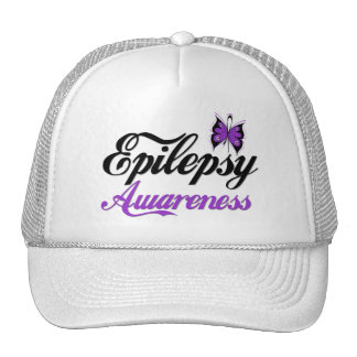 Epilepsy Awareness Mesh Hats