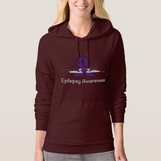 Epilepsy Awareness with Swans Hoodie