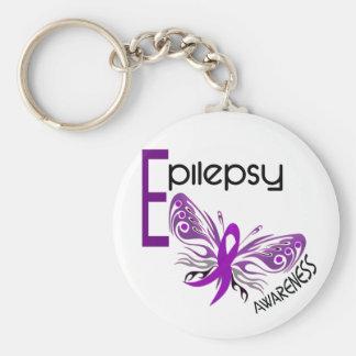 Epilepsy BUTTERFLY 3 Keychains