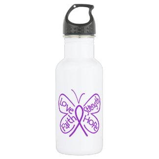 Epilepsy Butterfly Inspiring Words 532 Ml Water Bottle