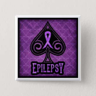 Epilepsy - Button - Spades