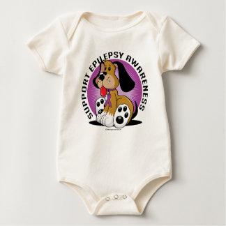 Epilepsy Dog Baby Bodysuit