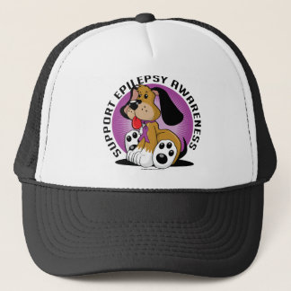 Epilepsy Dog Trucker Hat