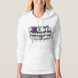 Epilepsy Fight Conquer and Win Hoodie