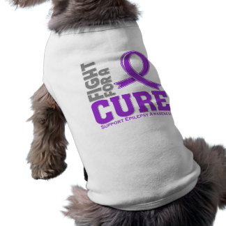 Epilepsy Fight For A Cure Sleeveless Dog Shirt