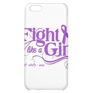 Epilepsy Fight Like A Girl Elegant iPhone 5C Covers