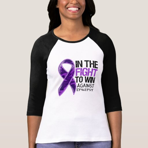 Epilepsy - Fight To Win Tshirt