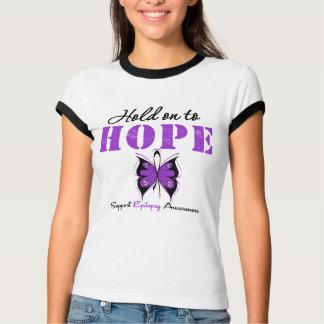 Epilepsy HOLD ON TO HOPE Shirt