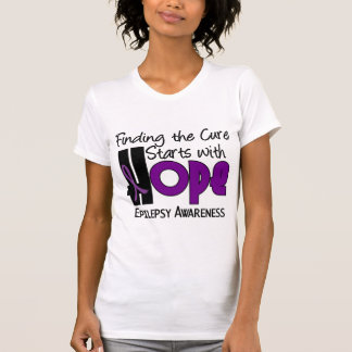 Epilepsy HOPE 4 T-shirts