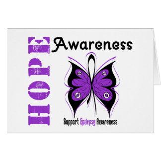Epilepsy HOPE Awareness Greeting Card