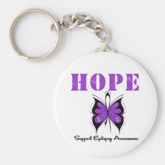 Epilepsy HOPE Keychain