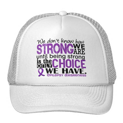 Epilepsy How Strong We Are Mesh Hat