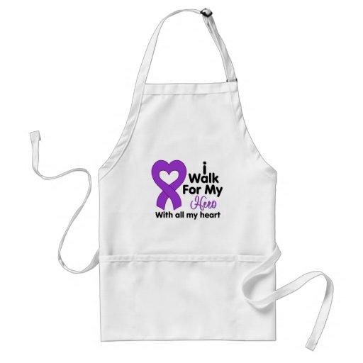 Epilepsy I Walk For My Hero Apron