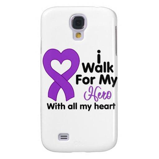 Epilepsy I Walk For My Hero Galaxy S4 Case