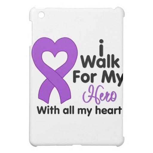 Epilepsy I Walk For My Hero iPad Mini Case
